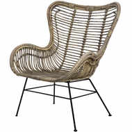 Image 1 - The Bali Collection Full Rattan Wing Chair