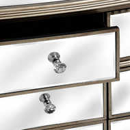 Image 2 - The Belfry Collection Six Drawer Mirrored Chest of Drawers