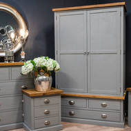Image 4 - The Byland Collection Three Drawer Two Door Wardrobe