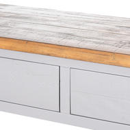Image 2 - The Byland Collection Two Drawer Console Table With Shelf