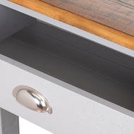 Image 3 - The Byland Collection Two Drawer Console Table With Shelf
