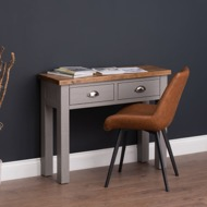 Image 5 - The Byland Collection Two Drawer Console