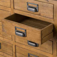 Image 2 - The Draftsman Collection 20 Drawer Merchant Chest