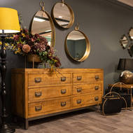 Image 3 - The Draftsman Collection Six Drawer Chest