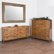 Image 5 - The Draftsman Collection Six Drawer Chest