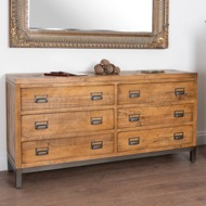 Image 6 - The Draftsman Collection Six Drawer Chest