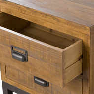 Image 2 - The Draftsman Collection Two Drawer Bedside