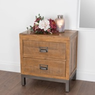 Image 5 - The Draftsman Collection Two Drawer Bedside