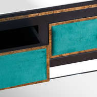 Image 2 - The Gatsby Collection Two Drawer Console Table