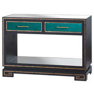 Image 1 - The Gatsby Collection Two Drawer Console Table