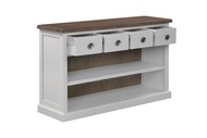 Image 2 - The Hampton Collection Four Drawer Low Bookcase