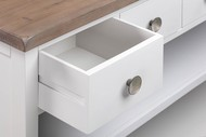 Image 3 - The Hampton Collection Four Drawer Low Bookcase