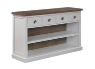 Image 1 - The Hampton Collection Four Drawer Low Bookcase