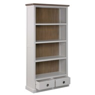 Image 2 - The Hampton Collection Two Drawer Bookcase
