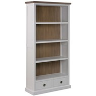 Image 1 - The Hampton Collection Two Drawer Bookcase