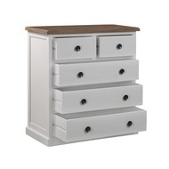 Image 2 - The Hampton Collection Two Over Three Chest Of Drawers