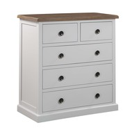 Image 1 - The Hampton Collection Two Over Three Chest Of Drawers