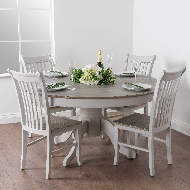Image 4 - The Liberty Collection Large Round Dining Table
