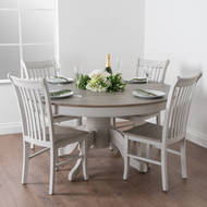 Image 5 - The Liberty Collection Large Round Dining Table