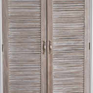 Image 5 - The Liberty Collection Linen Cupboard With Louvered Doors