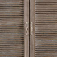 Image 4 - The Liberty Collection Louvered Door Mirror