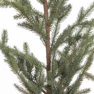 Image 2 - The Noel Collection Artificial Pine Tree In Hessian Pot