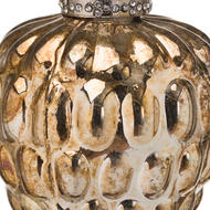 Image 2 - The Noel Collection Burnished  Acorn Hanging Bauble