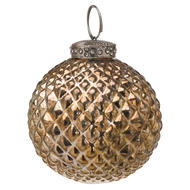Image 1 - The Noel Collection Burnished  Christmas Bauble