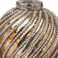 Image 2 - The Noel Collection Burnished Jewel Swirl Large Bauble