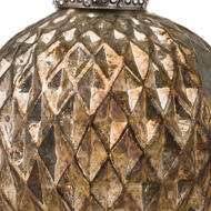 Image 2 - The Noel Collection Burnished  Large Honeycomb Bauble