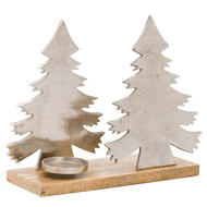 Image 1 - The Noel Collection Christmas Tree Tea Light Holder