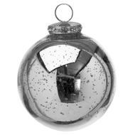 Image 1 - The Noel Collection Silver Bauble