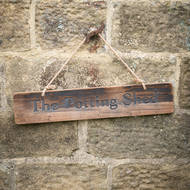 Image 4 - The Potting Shed Rustic Wooden Message Plaque