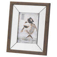 Image 1 - Titan Mirror And Wood 5X7 Photo Frame