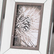 Image 2 - Tristan Mirror And Wood 4X6 Photo Frame