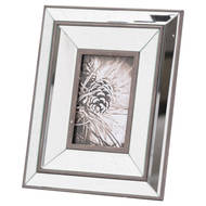 Image 1 - Tristan Mirror And Wood 4X6 Photo Frame