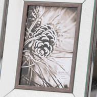 Image 2 - Tristan Mirror And Wood 5X7 Photo Frame