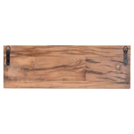 Image 3 - Wall Mounted Reclaimed Timber 4 Bottle Wine Rack