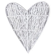 Image 3 - White Willow Branch Heart