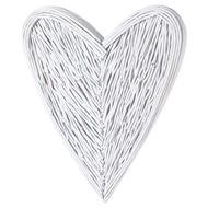 Image 1 - White Willow Branch Heart