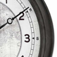 World Map Clock From Baytree Interiors