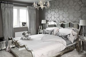 Bedroom Glam with Argente